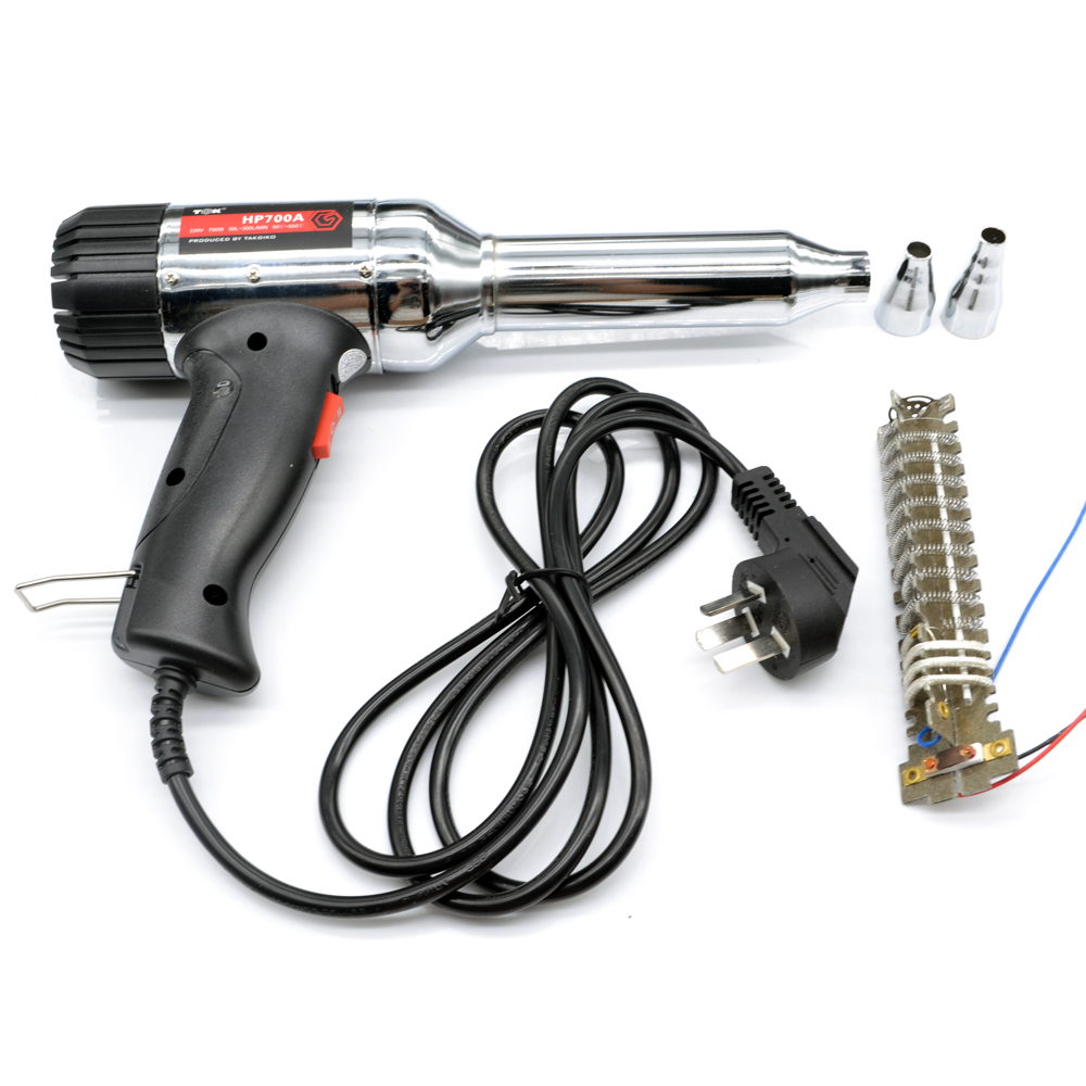 700W Plastic Welding Heat Gun Torch CE ROHS Quality Power ToolsMetal Shell welding baking heat gun