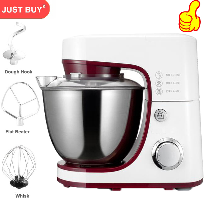 Electric Bread Dough Mixer Eggs Blender 4 2L Kitchen Stand Food Milkshake Cake Mixer Kneading Machine