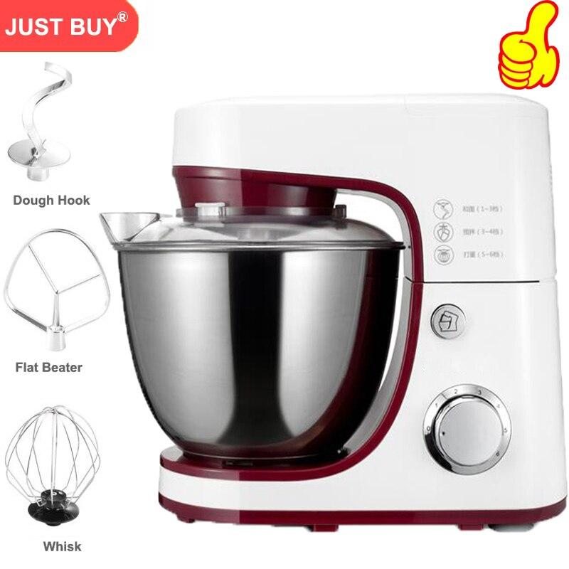 Pasta di Pane Uova Mixer Frullatore elettrico 4.2L Cucina Stand Cibo Frullato/Mixer Torta Impastare Macchina Pasta Maker