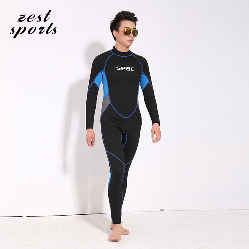 High-end,3mm men's piece fitted wetsuit, Neoprene wet suit, Surf Diving Equipment,fall and winter, keep warm swimsuit.M011 high quality cortex 3 5mm surf diving wet suits jacket men women surfing diving spearfishing wet suit long sleeve jacket wetsuit