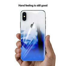 Baseus Coloring Tempered Glass Retral Film For iPhone X