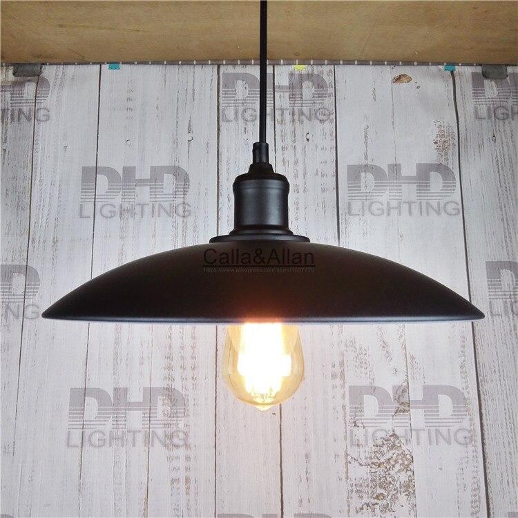 One sample order black iron shade Rural industry loft bar restaurant industrial elegant chandelier vintage pendant lamp free shipping one sample order new style geometrical figure simple iron black finished pendant lamps dk 60