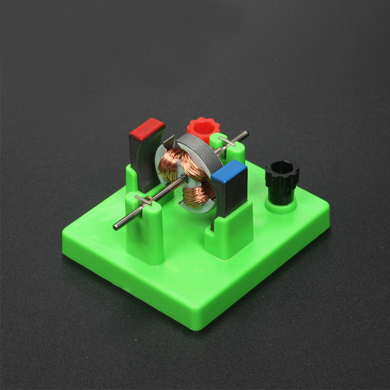 Physics Study Aids Physical Optical Experiment Instrument Dc Motor Model School Circuit Direct-current Motor Model With Fan
