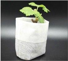 200 Pcs Plant-Fiber Nursery Pots Seedling-Raising Bags Garden Supplies Can Degrade Environmental Protection Full All Size