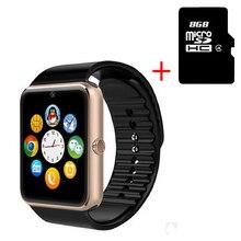 Heißer Smart Uhr GT08 Uhr Mit Sim Einbauschlitz Push-nachricht Bluetooth-konnektivität Android Telefon Besser Als DZ09 Smartwatch