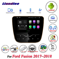Liandlee Car Android System For Ford Fusion 2017~2018 Stereo Radio Viedo GPS Navi MAP Navigation Screen Multimedia NO DVD Player