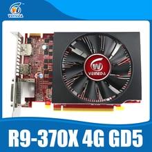 video card 100% original ATI Radeon Chipset R9 370X 4GB 256Bit GDDR5 graphics card produced by MSI stronger than R9 370 , GTX950
