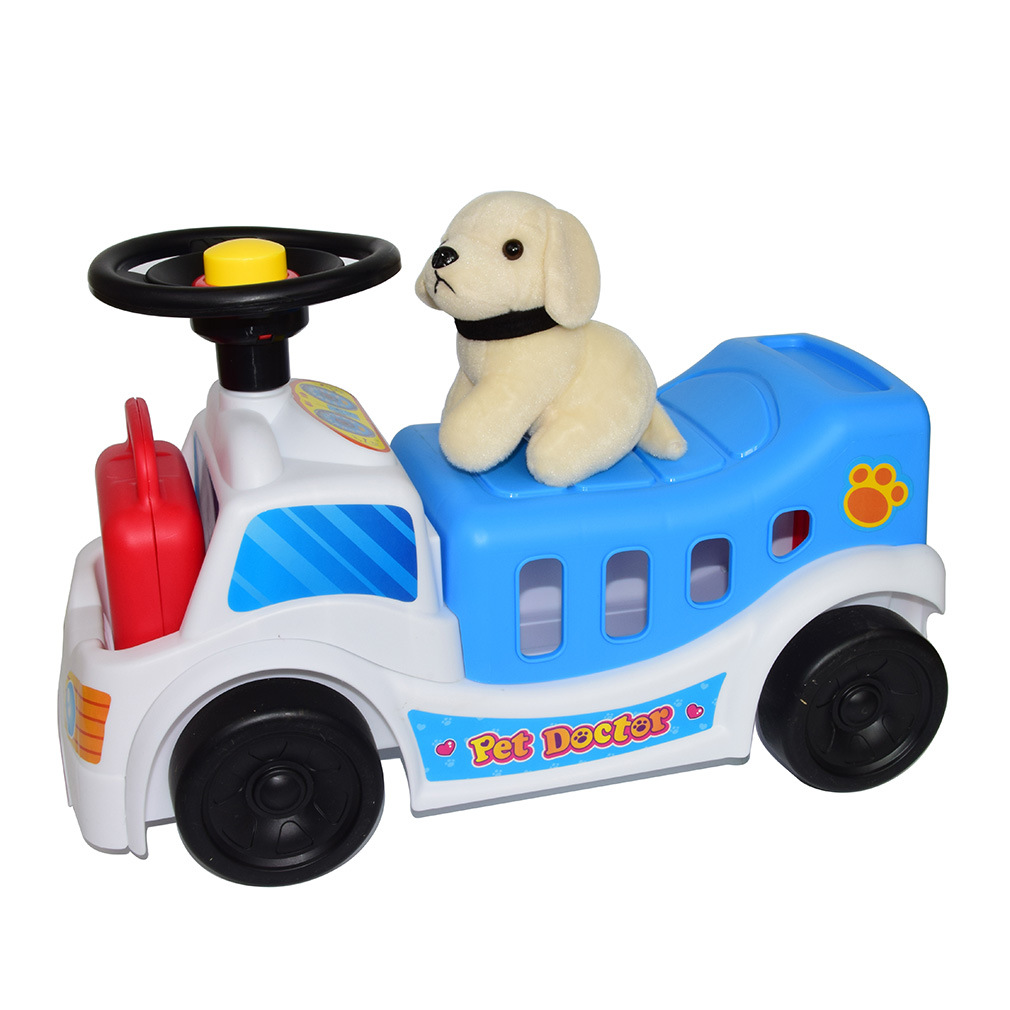 New products can ride love care car, pet ambulance, children