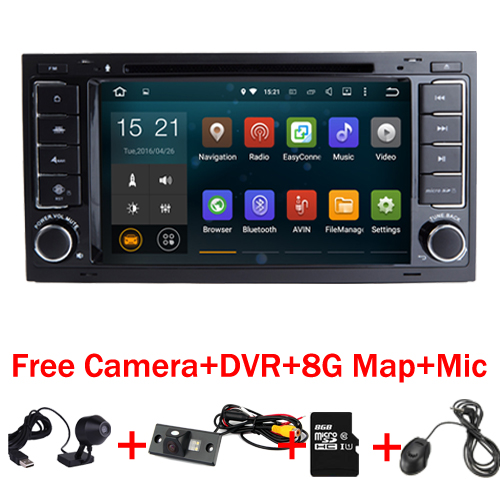 2017 Android 7 1 Car DVD Player for VW Touareg Multivan With Wifi 3G GPS Bluetooth