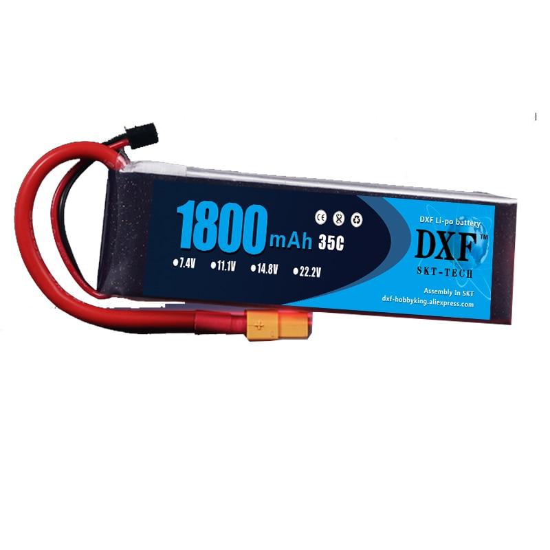 2017 DXF Lipo Batería 11.1 V 1800 mAh 35 C max 60C 3 S Akku Packs - Juguetes con control remoto - foto 3
