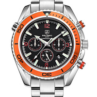 New Sekaro Sports Watches Men S Automatic Mechanical Watch Male Steel Bracelet Table Multi Function Waterproof