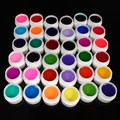36 Colors Nail Art UV Gel Varnish Different Mix Pure Colour Builder Gels Decor Beauty Sets Salon DIY Manicure Designs Tools