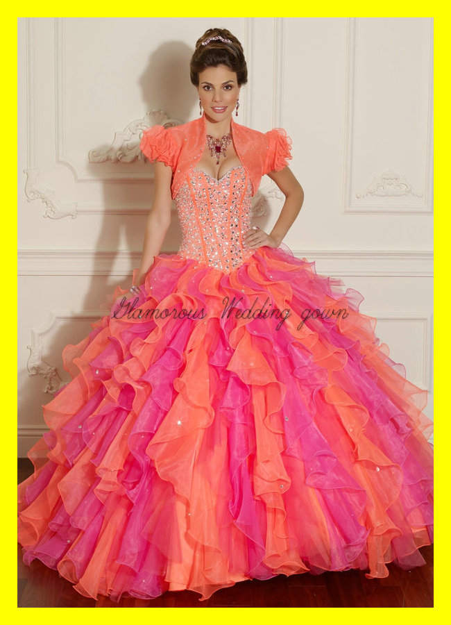 Plus Size Prom Dresses Designer Pink And White Quinceanera Big Puffy