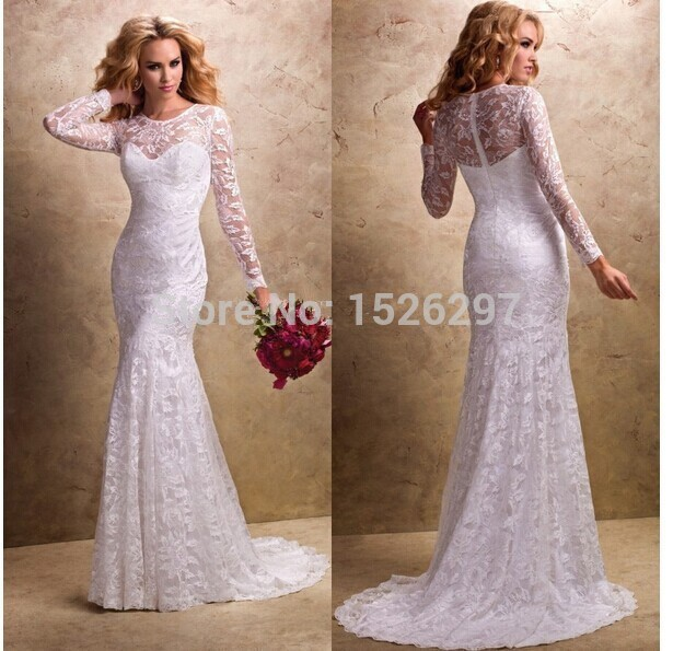 Popular White Mermaid Dress-Buy Cheap White Mermaid Dress lots ...