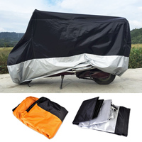 CITALL XXXL Motorcycle Indoor Outdoor Waterproof Cover UV Protector fit for Harley Touring Honda Kawasaki Yamaha Suzuki Harley