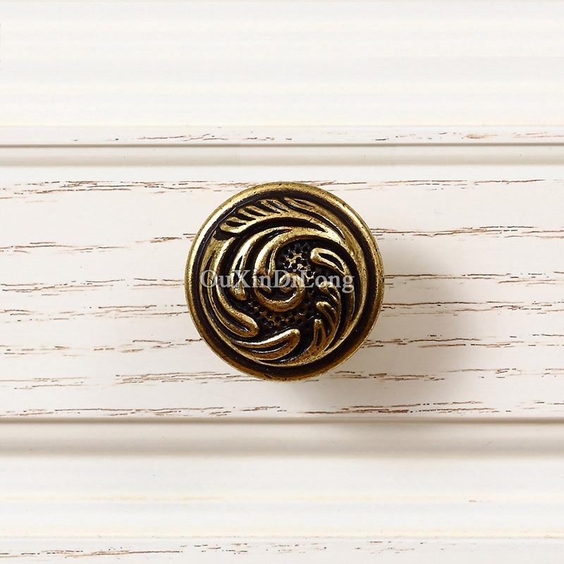 Top diseñado 5 pares o 10 piezas de muebles antiguo europeo del armario del cajón del Gabinete de cocina manijas y perillas de tira - 5