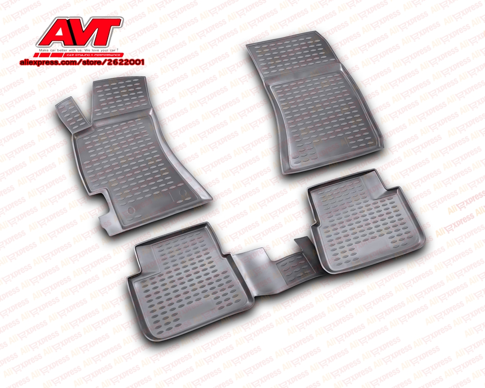 Floor Mats For Subaru Impreza 2007 4 Pcs Rubber Rugs Non