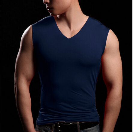 Buy casual new summer exercise men for Best v neck shirts