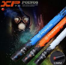 New Arrival POINOS Brand XP Billiard Pool Stick Cue Kit 13mm Tip Black Shaft with Protector Duarble Professional China 2019