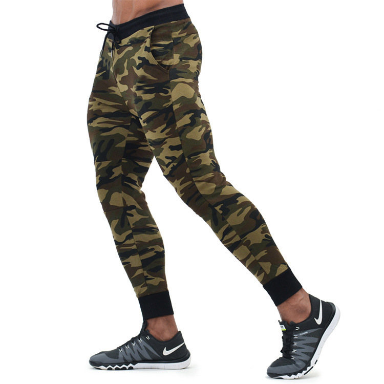 Mens Joggers Camouflage Casual Pants Fitness Men Sportswear Tracksuit Bottoms Skinny Sweatpants Trousers Gyms Jogger Camo Pants