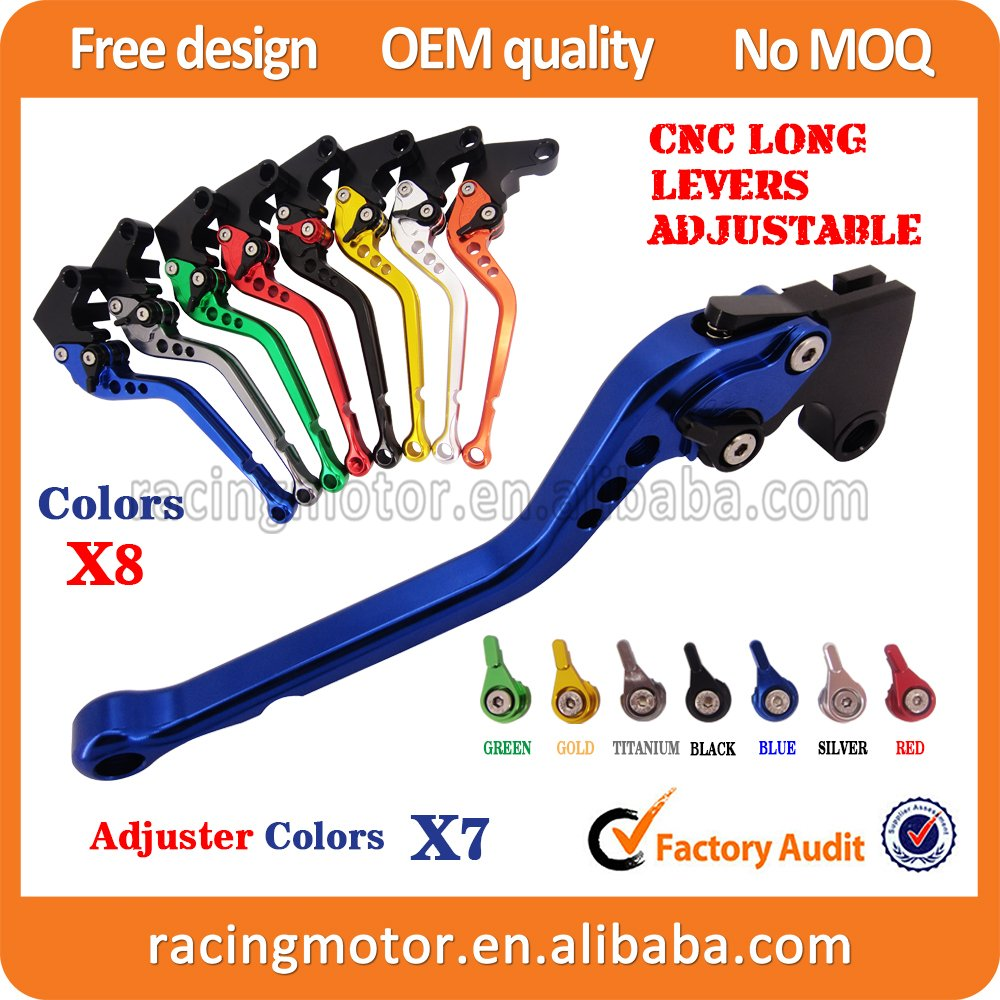 CNC Long Adjustable Brake Clutch Levers For Triumph Sprint RS 1999 2000 2001 2002 2003 (6.8 inch )