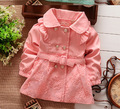 New 2015 Children Outerwear Spring autumn Babi Girls Jackets Coats Baby Girls clothing kids clothes Retail 1 Pcs Q165