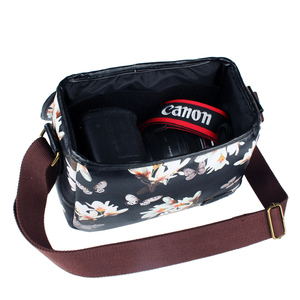 Image 4 - Wennew DSLR Waterproof PU Leather Case Camera Bag for Canon EOS 5D Mark IV 7D 6D II III 9000D 4000D 2000D Nikon SONY