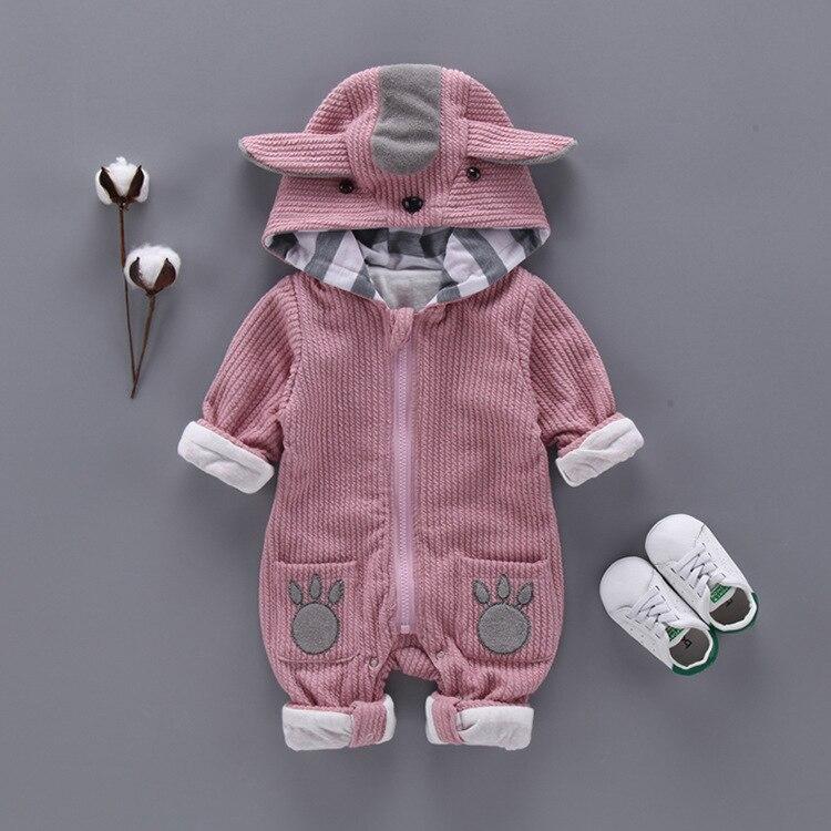 Детский комбинезон с капюшоном, на осень/зиму 3
