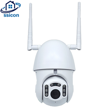 цена на SSICON HD 1080P WIFI PTZ IP Camera Outdoor Wireless Speed Dome CCTV Security Camera ONVIF 2MP IR Home Surveillance Cameras