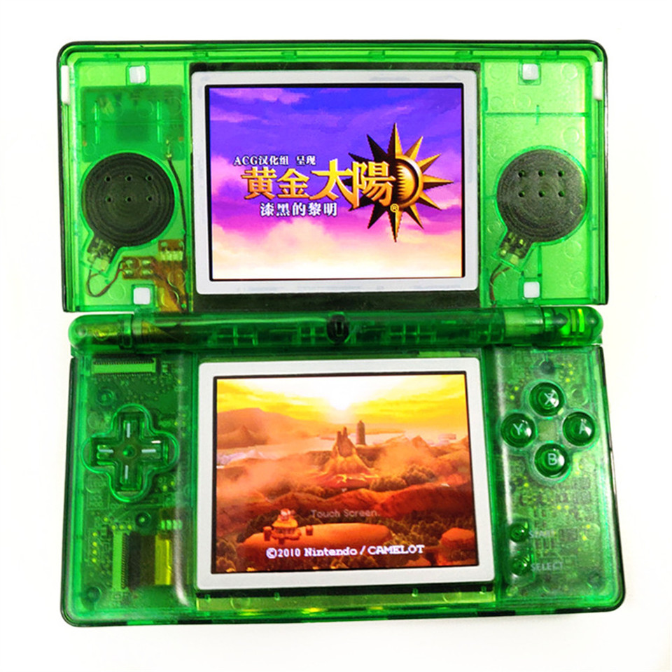 Professionally Refurbished For Nintendo DS Lite Game Console For Nintendo  DSL Video Game System Clear Green Console| | - AliExpress