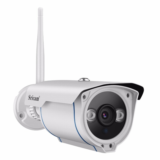 Sricam sp007 1080 p hd ip 카메라 와이파이 onvif 2.4 p2p 스마트 폰 방수 vandalproof 15 m ir 야외 홈 보안 카메라