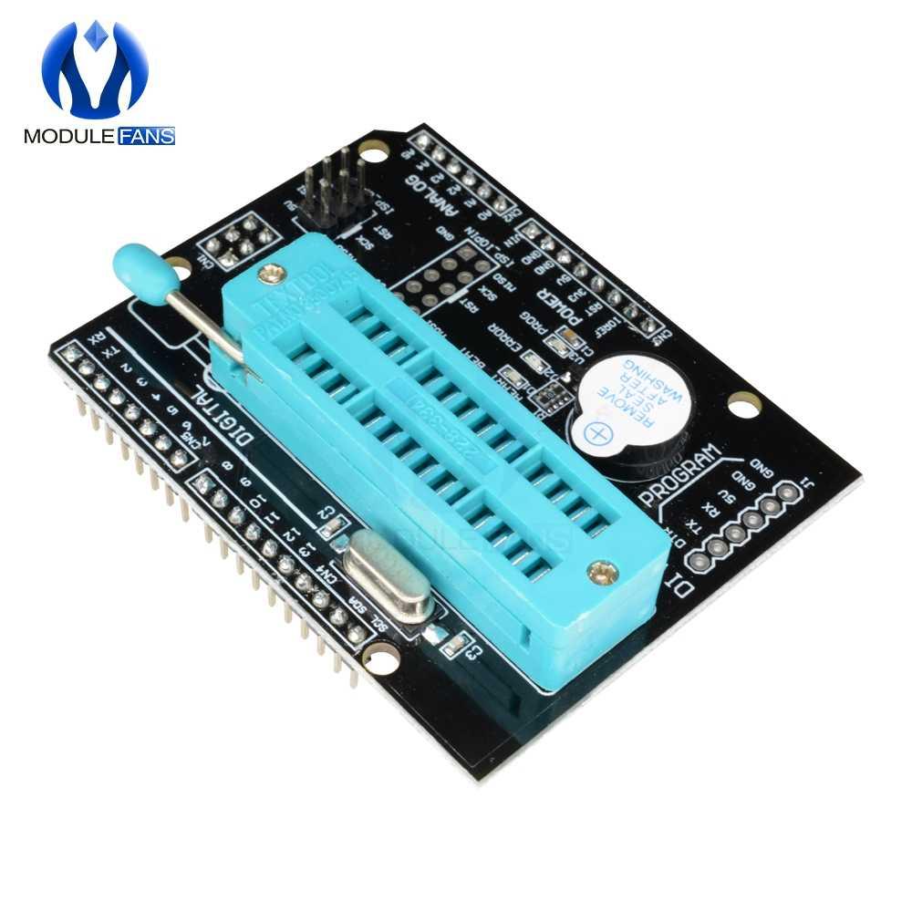 Программируемая Плата расширения AVR ISP, модуль платы расширения для Arduino Uno R3 Mega2560 Atmega328P Nano Pro, мини-модуль загрузчика