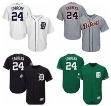 09fa16e1a MLB Men s Detroit Tigers Miguel Cabrera Baseball Home Cool Flex Base Player  Jersey(China)