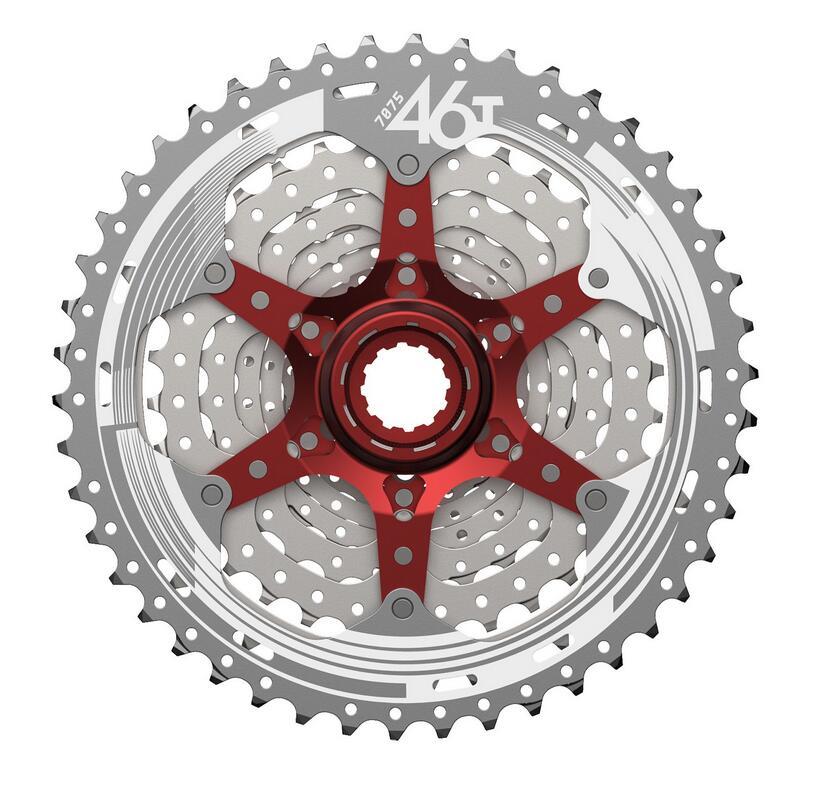 Image 2 - SunRace CSMX3 CSMS3 10 speed 11 46T Cassette Bike Freewheel Sprocket Mountain Bike Cassette Bicycle Parts 10 speed 11 46T-in Bicycle Freewheel from Sports & Entertainment
