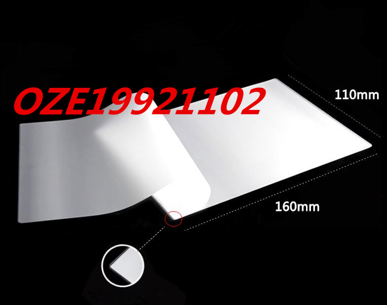 100pcs Clear White Plastic 55/65/80/100mic 4R 110*160mm Protective Photo Laminating Pouch Film