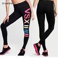 Calças esportivas roupas de ginástica spandex execução collants mulheres leggings esportes aptidão yoga calças para mulheres plus size