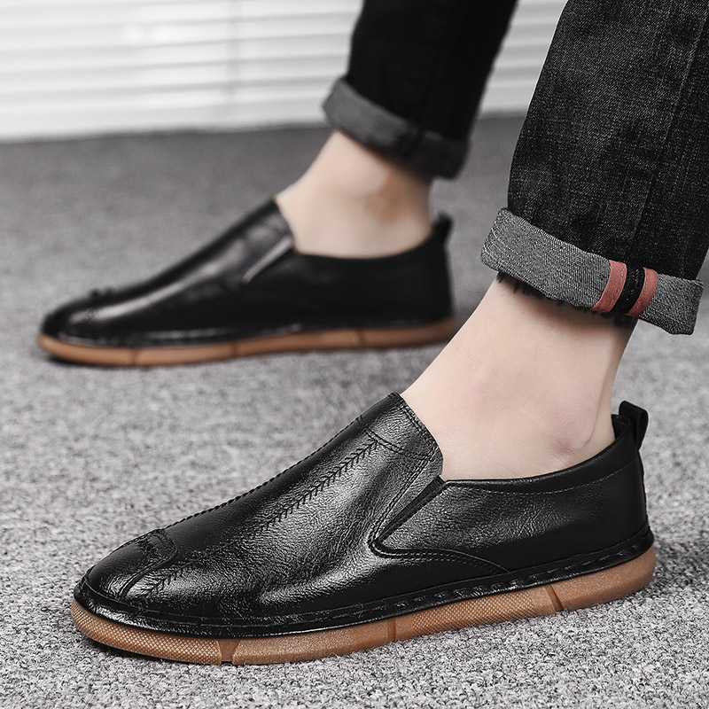 Casual-Shoes Spring Comfortable Slip-On Summer Loafers Men Light-Weight B1-43 Hot-Sale
