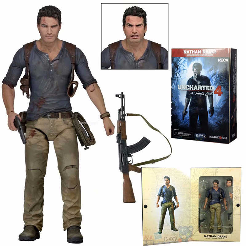 NECA Uncharted 4 EEN dief's end Nathan Drake Ultimate Edition PVC Action Figure Speelgoed Pop Gift