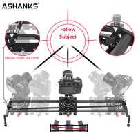 ASHANKS S2 Track Cámara deslizante fibra de carbono tubo de ángulo ajustable sigue el enfoque de panorámica para estabilizador DV DSLR Cámara Grabación de Vídeo