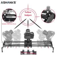 ASHANKS S2 Track Camera Slider Carbon Fiber Adjustable Angle Tube Follow Focus Pan for Stabilizer DV DSLR Camera Video Shooting