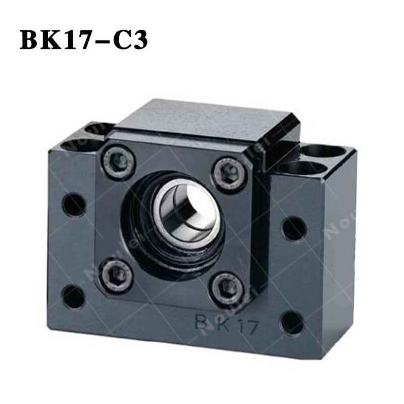 BK17 C3 fixed end ballscrew support Slide Linear ball screw bk17 fixed end ballscrew support slide linear ball screw