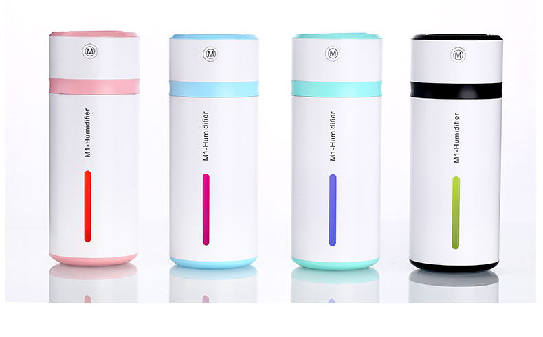 купить 230ML Ultrasonic Humidifier USB Car Humidifier Mini Aroma Essential Oil Diffuser Aromatherapy Mist Maker Home Office