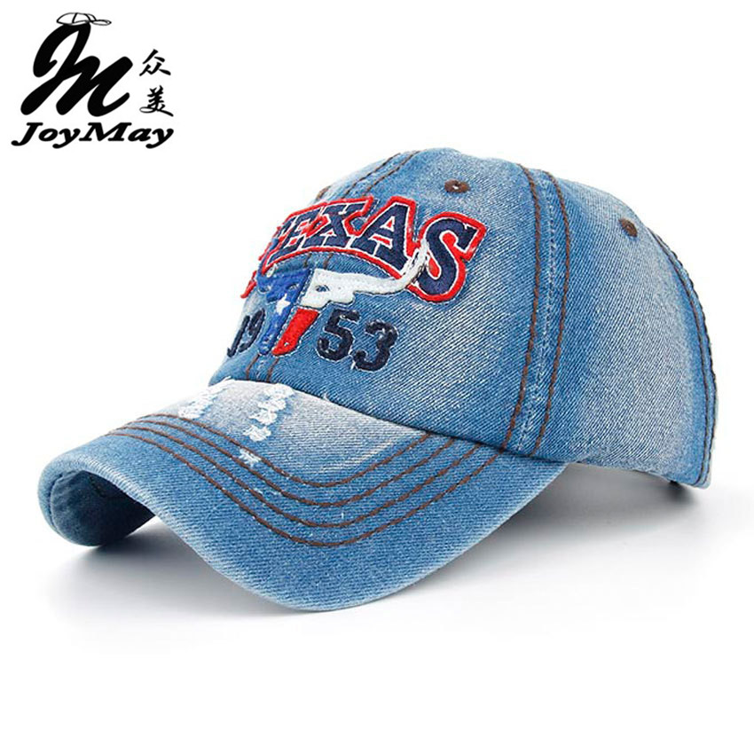 Joymay 2015 New Texas Bull Summer Baseball Caps for Men Snapback Caps Women Casual Adjustable Letters Hats B259 brand kenmont new summer hats for women 100