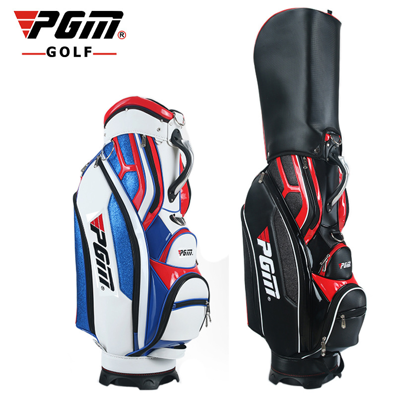The New! PGM Golf Bag Men's Waterproof PU Bag Can Be Installed Umbrella A4766 pgm genuine golf standard durable bag waterproof lady golf capacity standard ball bag embroidered package contain full set club