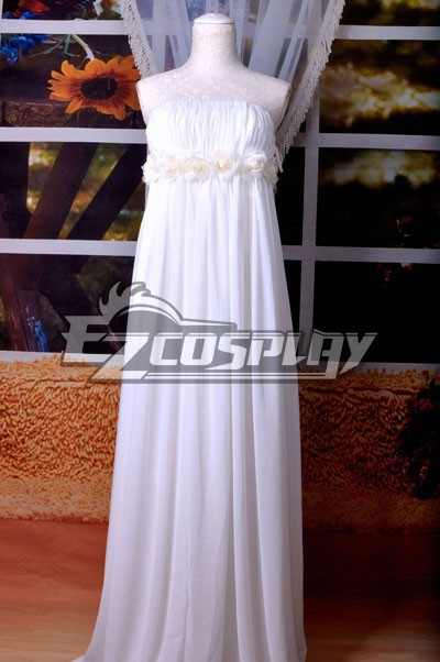 Japanese Anime Outfit Macross Series Sheryl MF White Rabbit Lolita Cosplay Costume E001