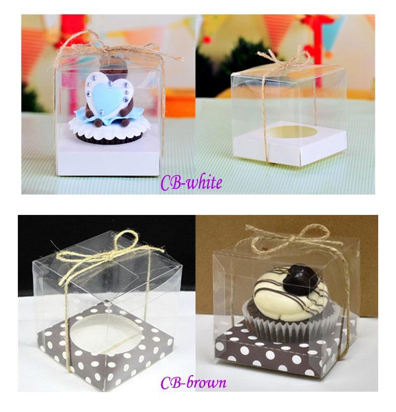 Online Shop Transparent Plastic Single Cupcake Boxes ...