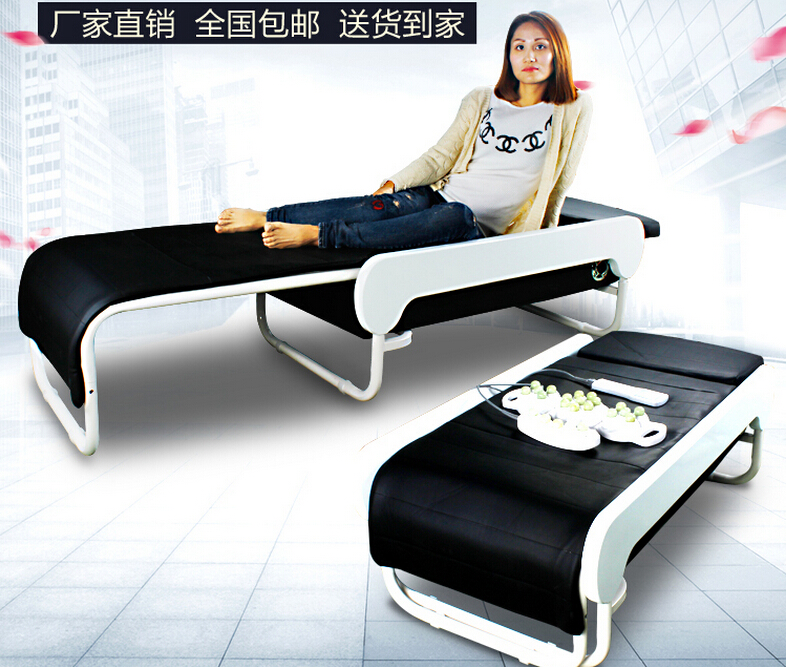 3 D Massages Bed Physical Therapy Bed Folding Stretched