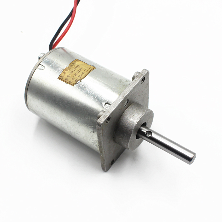 NEW Double ball bearing Motor Compensated carbon brush DC120V Wind Turbines DIY