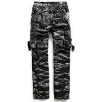 Mens Military Stil Camouflage Cargo Hosen Männlichen Baggy Camo Mehrfach Lange Overalls Winter Baumwolle Gerade Hosen 102401