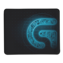 Cool Design Hot Sale Logitech Gaming Mouse Pad Rubber Durable Mat for Computer Mousepad